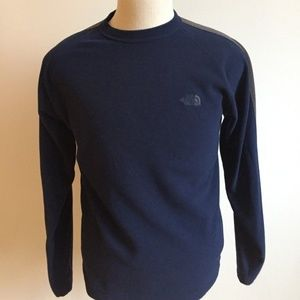The north face Sweater Sz med pullover navy blue